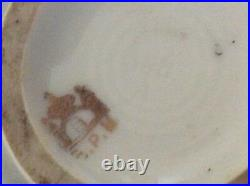 Rare Antique Hand Decorated Vase 16 High With Rare EPM Pruce Mark