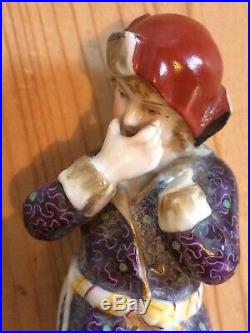 Rare Antique KPM Zodiac Porcelain Figurine'Januario' by Friedrich Elias Meyer