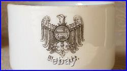 Rare tea pair cup saucer Blutgericht Konigsberg Germany porcelain KPM 1900