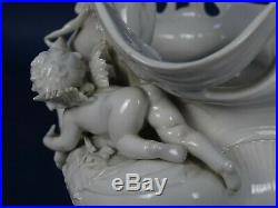 SCULPTURE VASE LADY porcelain VOLKSTEDT RUDOLSTADT GERMANY sc GINORI MEISSEN KPM