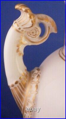 Superb Antique Art Nouveau KPM Berlin Porcelain French Vase Porzellan Jugendstil