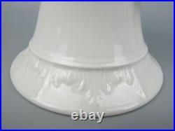Superb antique KPM white porcelain Goat Head Vase. Berlin Royal Porcelain 17.5cm