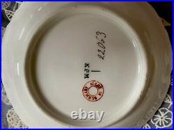 Victorian KPM Porcelain Dessert / Berry Dishes