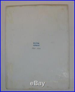 Vintage RPM Kpm Germany Fine Porcelain Portrait Plaque Tile Of Nanette Kaula
